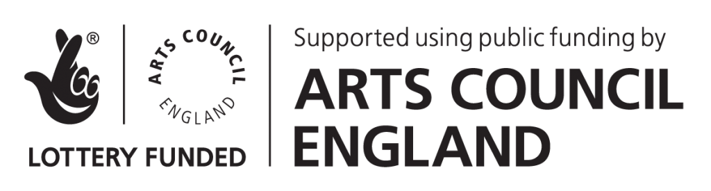 Support from Arts Council England!